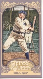 2012 Topps Gypsy Queen Ty Cobb Mini