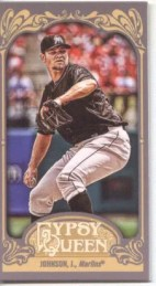 2012 Topps Gypsy Queen Josh JOhnson Mini Sp