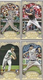 2012 Topps Gypsy Queen Mike Stanton Mini