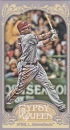2012 Topps Gypsy Queen Justin Upton Base Mini