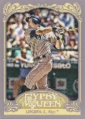 2012 Topps Gypsy Queen Evan Longoria Sp Photo Variation