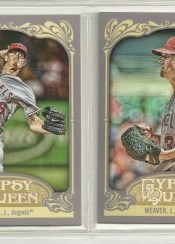 2012 Topps Gypsy Queen Weaver Base