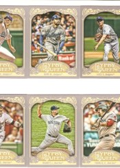 2012 Topps Gypsy Queen Kevin Youkilis Base