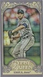 2012 Topps Gypsy Queen Brandon Beachy Mini