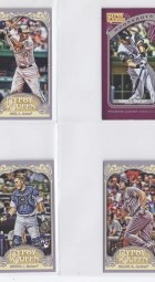 2012 Topps Gypsy Queen Adam Jones Sp Mini