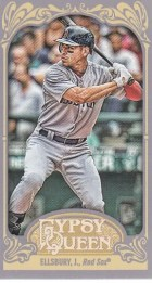 2012 Topps Gypsy Queen Jacoby Ellsbury Mini Sp