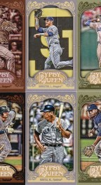 2012 Topps Gypsy Queen Josh Hamilton Sp Mini