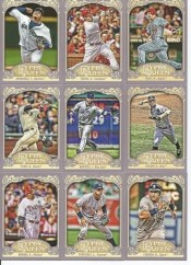 2012 Topps Gypsy Queen Jose Bautista Base
