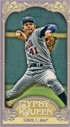 2012 Topps Gypsy Queen Tom Seaver Mini