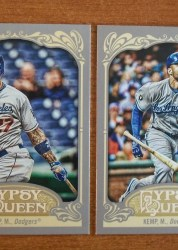 2012 Topps Gypsy Queen Matt Kemp Sp Variation Card