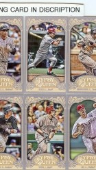 2012 Topps Gypsy Queen Tony Gywnn Mini Variation