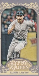 2012 Topps Gypsy Queen Jacoby Ellsbury Mini