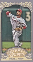 2012 Topps Gypsy Queen Jimmy Rollins Mini