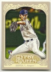 2012 Topps Gypsy Queen Yu Darvish Sp Rookie RC Card