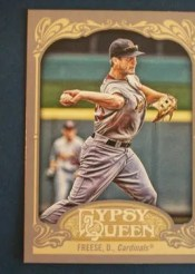 2012 Topps Gypsy Queen David Freese Sp Photo Variation Card