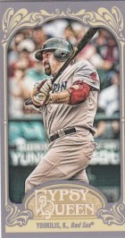 2012 Topps Gypsy Queen Kevin Youkilis Mini
