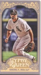 2012 Topps Gypsy Queen Paul Konerko Mini Sp