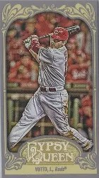 2012 Topps Gypsy Queen Joey Votto Mini