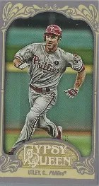 2012 Topps Gypsy Queen Chase Utley Mini