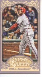 2012 Topps Gypsy Queen Justin Upton Sp Mini