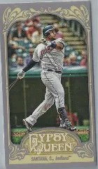 2012 Topps Gypsy Queen Carlos Santana Mini