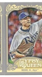 2012 Topps Gypsy Queen Matt Moore Mini Sp