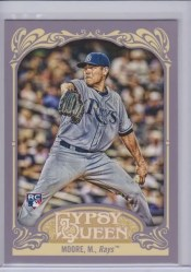 2012 Topps Gypsy Queen Matt Moore Base RC Card