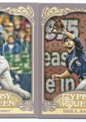 2012 Topps Gypsy Queen Ryan Braun Sp Variation Card