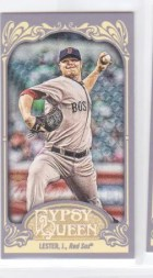2012 Topps Gypsy Queen Jon Lester Mini