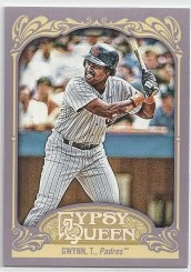 2012 Topps Gypsy Queen SP Tony Gwynn Variation Card