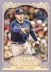 2012 Topps Gypsy Queen Freddie Freeman Base Card