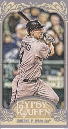 2012 Topps Gypsy Queen Paul Konerko Mini