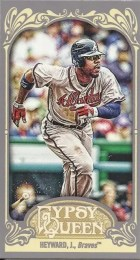 2012 Topps Gypsy Queen Jason Heyward Mini