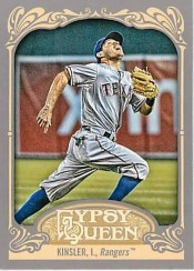 2012 Topps Gypsy Queen Ian Kinsler Base