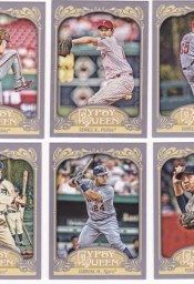 2012 Topps Gypsy Queen Cliff Lee Base Card