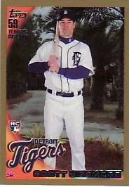 2010 Topps Series 2 Scott Sizemore Gold