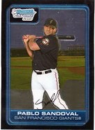 2006 Bowman Chrome Draft Futures Game Pablo Sandoval