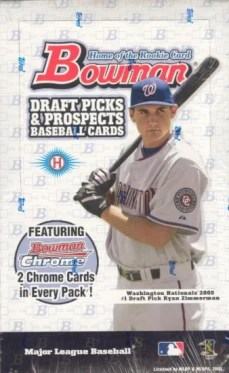 2005 Bowman Chrome Draft Picks & Prospects Baseball Hobby Box