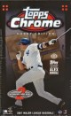2007 Topps Chrome Baseball Box