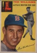 1954 Topps Baseball Ted Williams #250