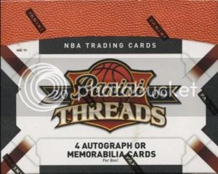09/10 Panini Threads Basketball Box Checklist