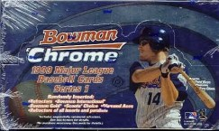 1999 Bowman Chrome Baseball Box Series 1