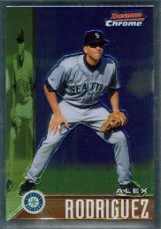 2005 Bowman Chrome AROD Throwback Card