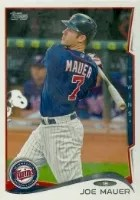 2014 Topps Series 2 Joe Mauer Snoopy Sp