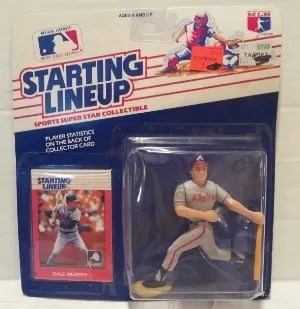 1988 Kenner Dale Murphy Starting Lineup