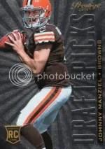 2014 Prestige Johnny Manziel Draft Picks