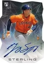 2014 Bowman Sterling George Springer Die Cut Auto