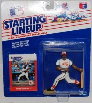 1988 Kenner Eddie Murray Starting Lineup