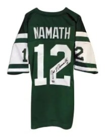Joe Namath Autographed Jersey