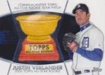 2014 Topps Series 2 Justin Verlander Patch